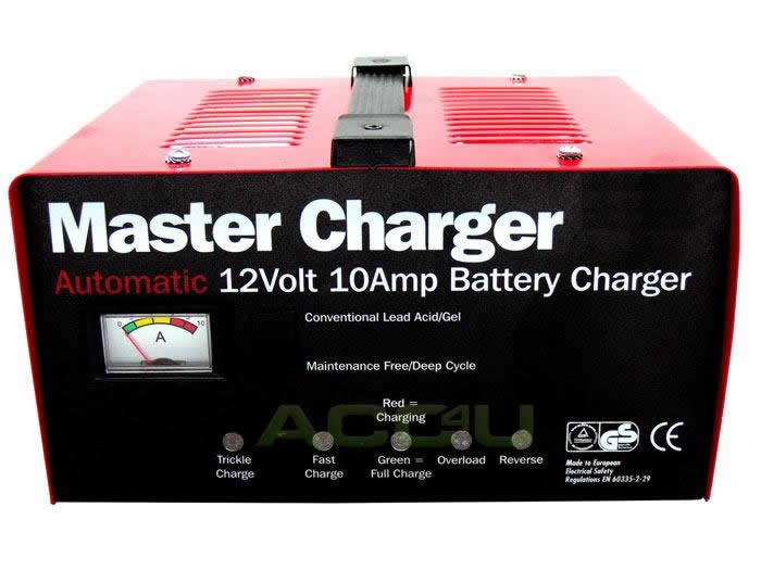 12v 10A 100Ah Car Van Bike Boat Automatic Metal Case Battery Master Charger