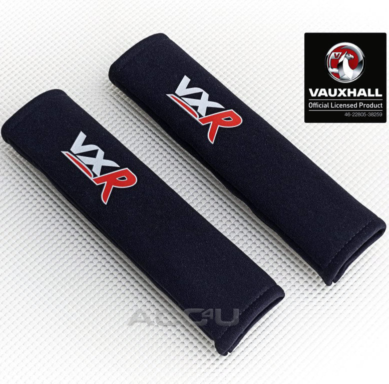 Richbrook Vauxhall Official Licensed VXR Car Seat Belt Comfort Shoulder Harness Pads Set