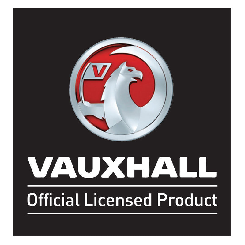 Richbrook Vauxhall Official Licensed Real Black Leather VXR Car Keyring