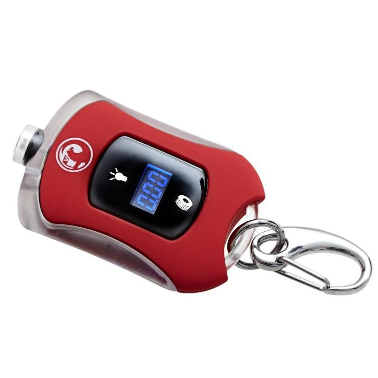 Richbrook Vauxhall Official Licensed Mini Car Digital Tyre Pressure Gauge & LED Light Keyring