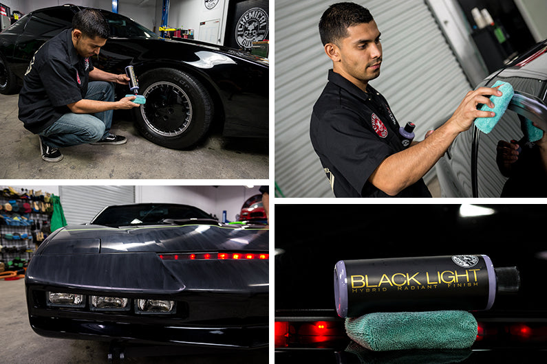 Chemical Guys BLACK LIGHT Car Paint Hybrid Radiant Super Gloss Finish Sealant
