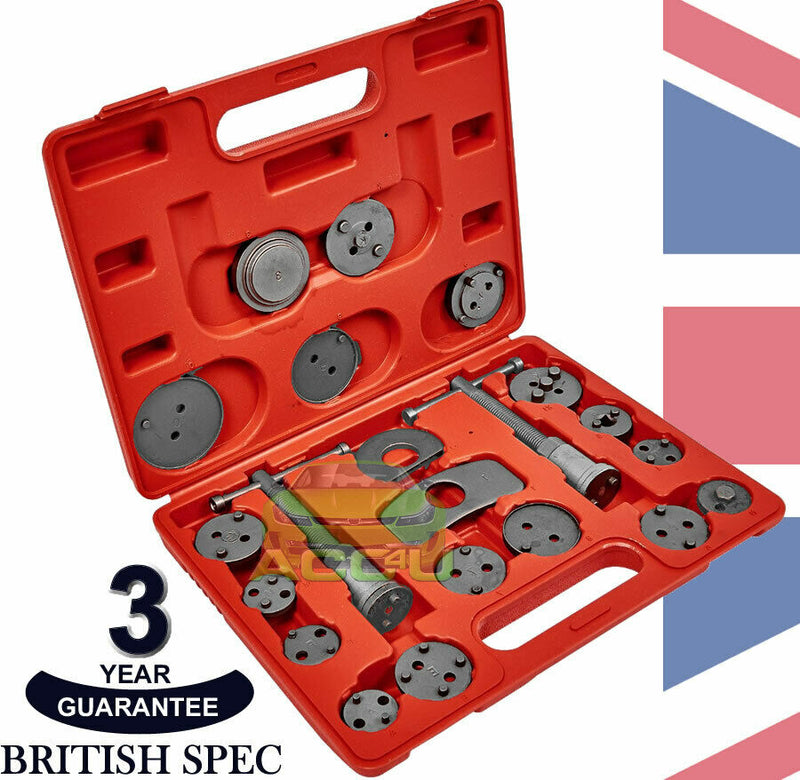 Amtech 21 Pieces Car Left & Right Brake Caliper Piston Rewind Wind Back Tool Kit