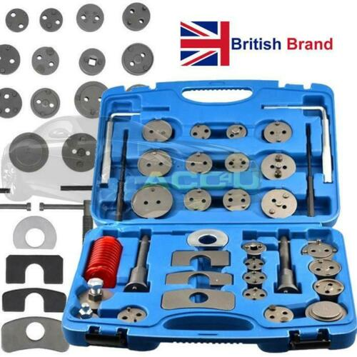 Streetwize 35 Pcs Carbon Steel Car Brake Caliper Piston Rewind Wind Back Tool Kit Set