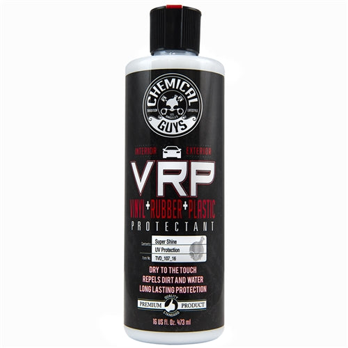 Chemical Guys VRP Car Interior Exterior Vinyl Rubber Plastic Super Shine Protectant