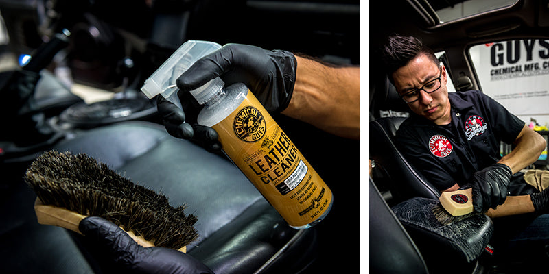Chemical Guys LEATHER CLEANER Car Odorless PH Balanced Superior Leather Cleaner