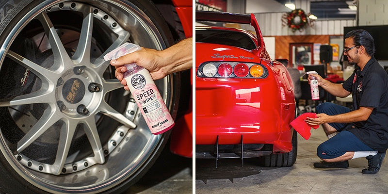 Chemical Guys SPEED WIPE Car Paint High Gloss Deep Wet Shine Quick Detailer Spray