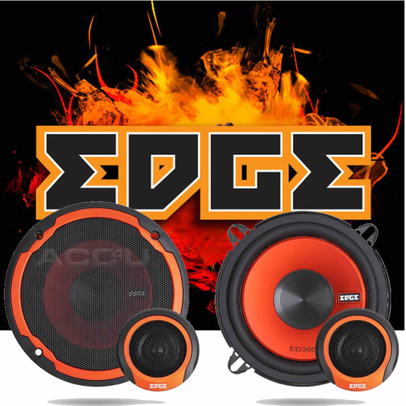 "Edge Audio ED306 E2 6.5"" inch 165mm 480w Car Door Component Speakers System Set"