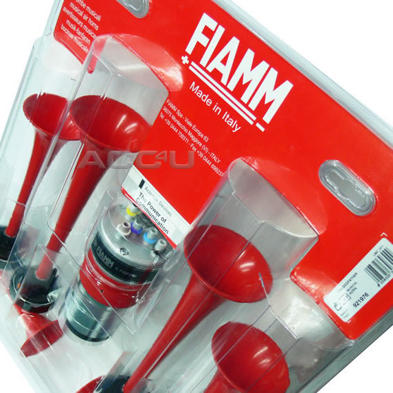 FIAMM Italy 12v Car Van The GodFather Film Tune Sound Musical Air Horn Kit