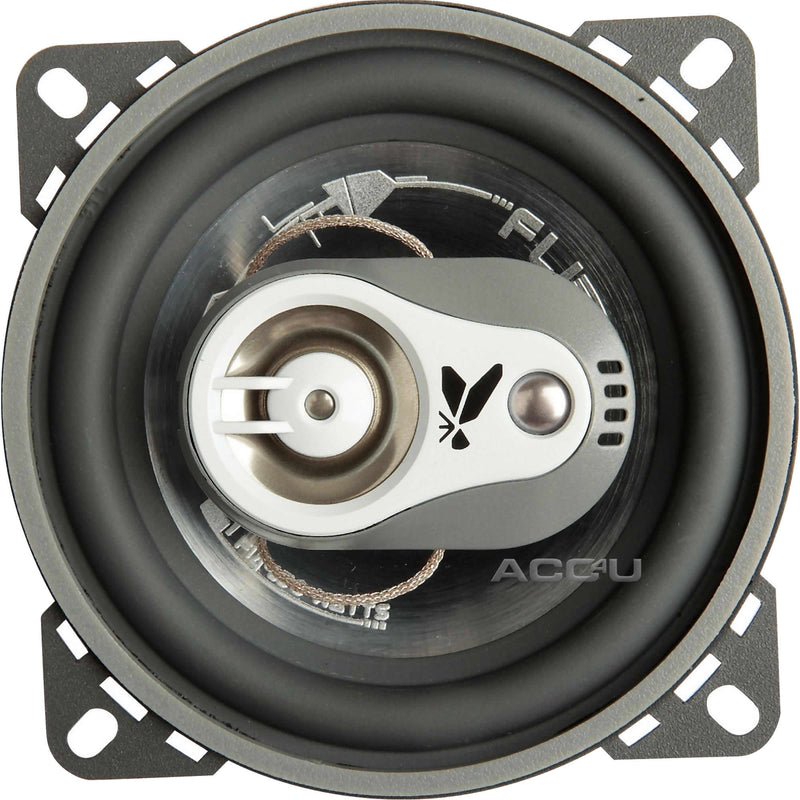 "FLI Audio Integrator 4"" inch 100mm 300w 3-Way Car Van Door Coaxial Speakers Set"