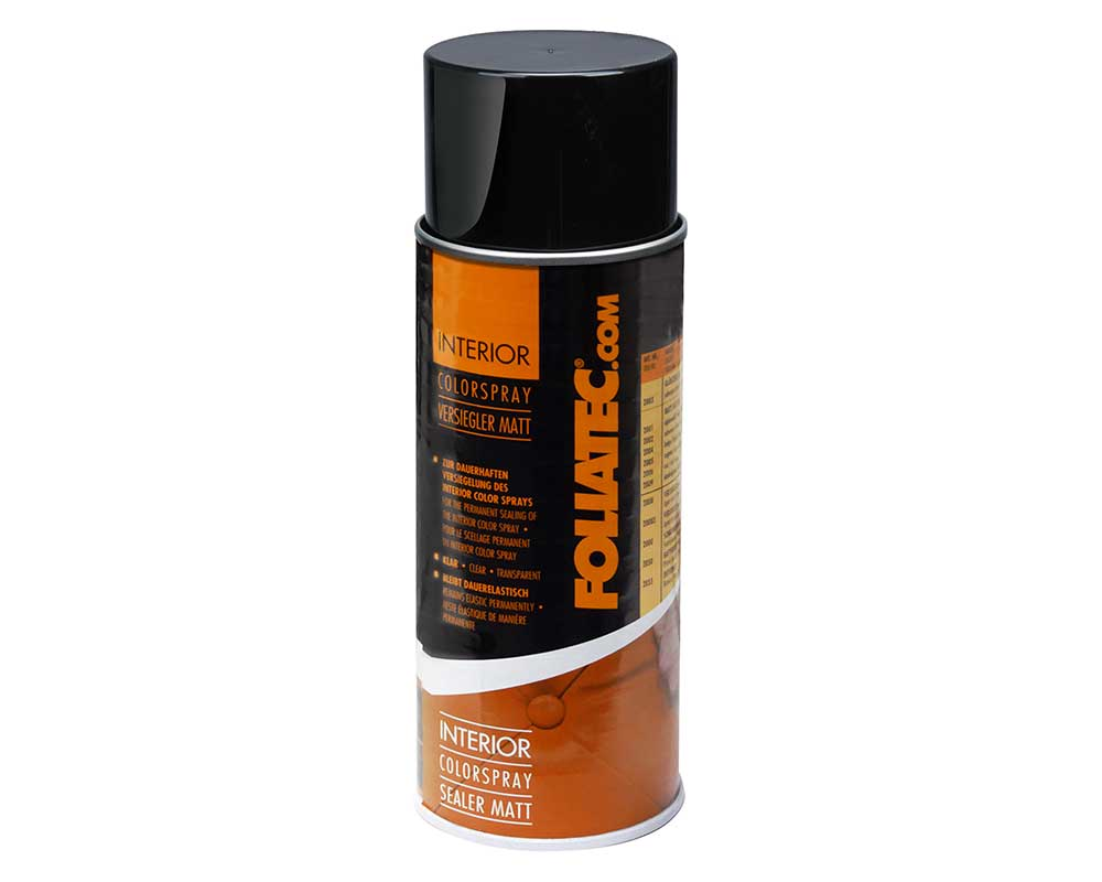 Foliatec 20083 Car Interior Dashboard Door Plastic Vinyl CLEAR MATT SEALER Spray Paint