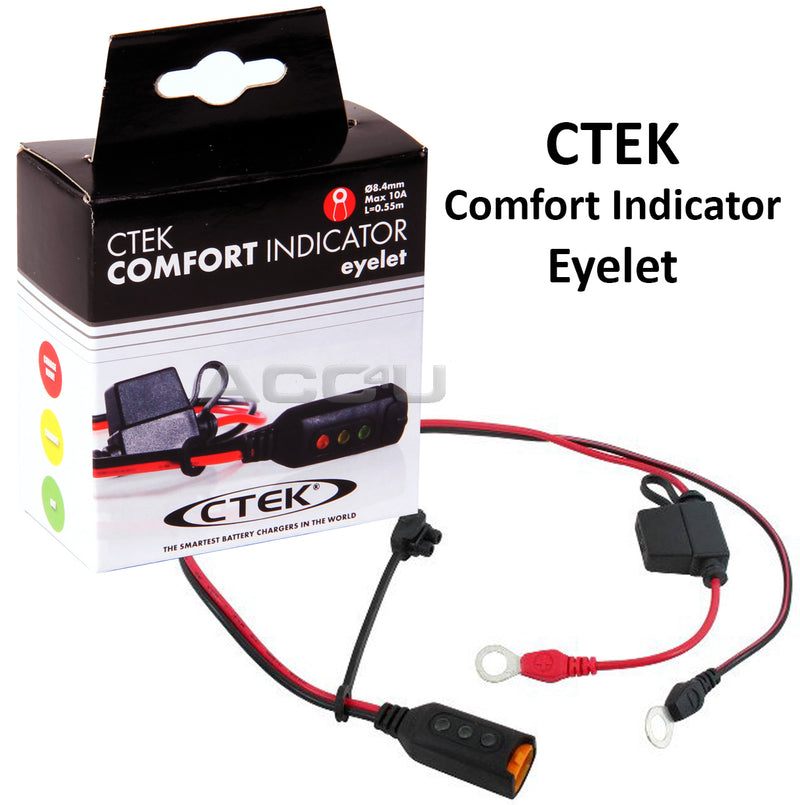 CTEK Comfort Indicator Eyelet M8 For All CTEK 12v Chargers With Comfort Connect