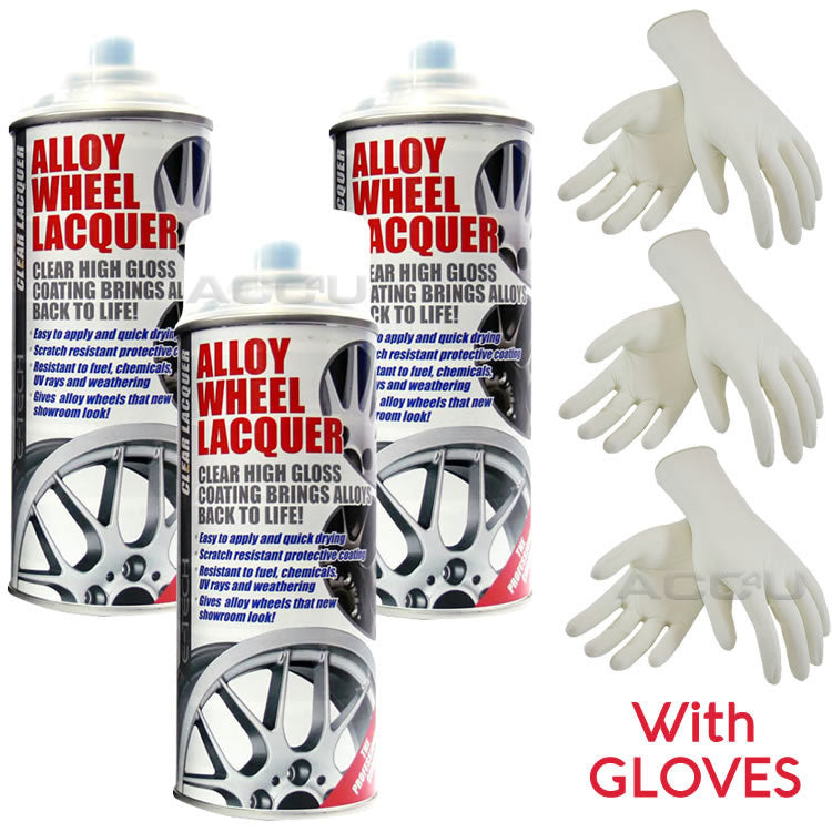 E-Tech Professional Car Alloy Wheel Wheels CLEAR LACQUER Spray Paint Can