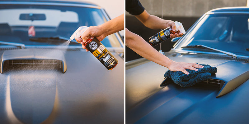 Chemical Guys MM Car Satin Matte Paint Finish Vinyl Wrap Matte Detailer Spray Sealant
