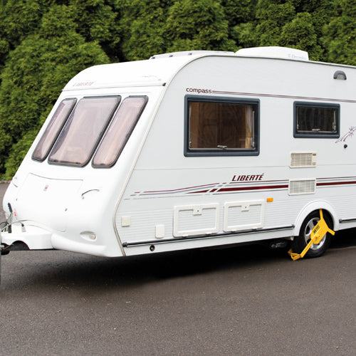 "Maypole MP909 Car Van Caravan Motorhome Heavy Duty Security 10"" - 16"" Wheel Clamp"