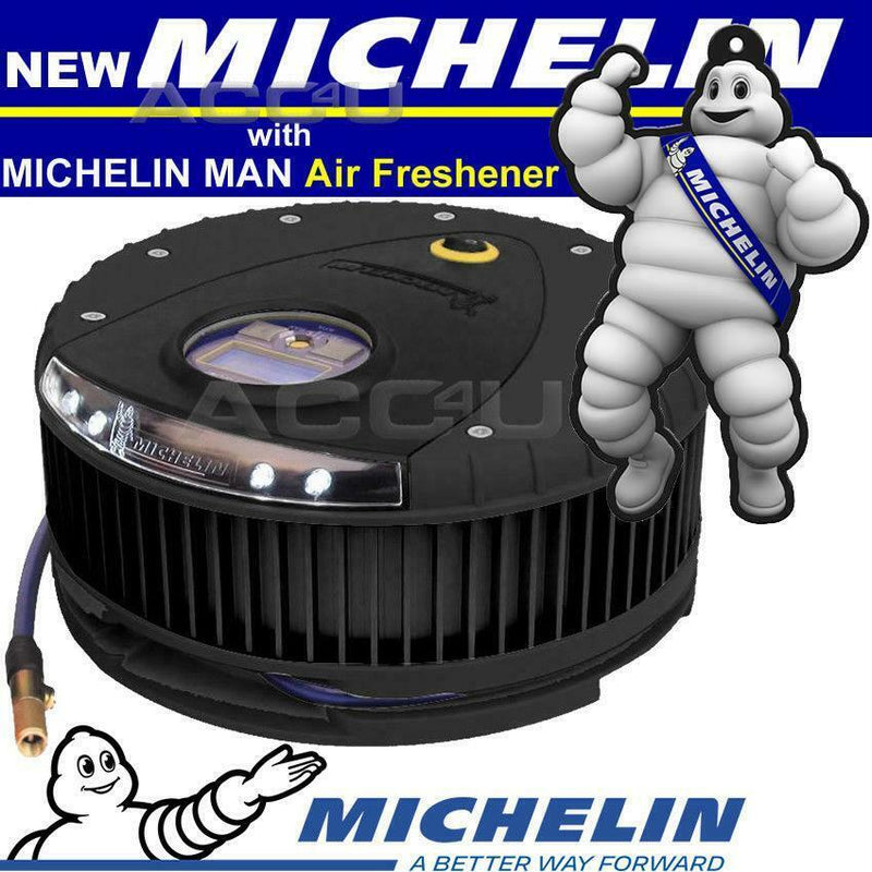 Michelin 12262 12v Car Digital Automatic Rapid Tyre Air Compressor Inflator Pump