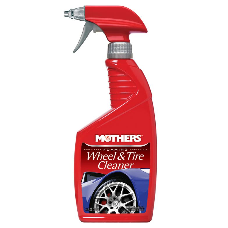 Mothers California Gold Car Foaming Non-Acidic Alloy Wheel & Tire Tyre Cleaner