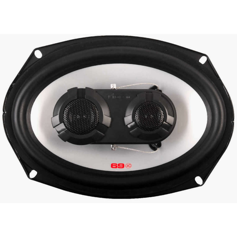"Vibe Pulse Series 69 6x9"" inch 600w 3-Way Car Rear Parcel Shelf Coaxial Speakers Set"