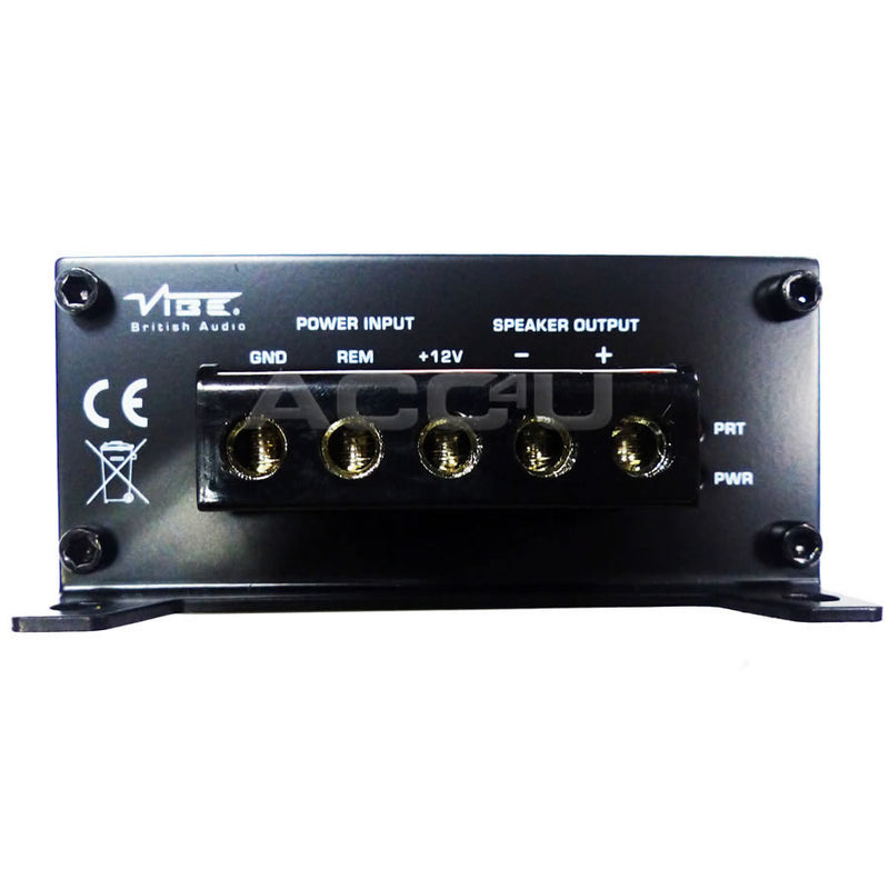 Vibe Powerbox 400.1M 800w Micro Mini Class D Monoblock Mono Car Bass Amp Amplifier