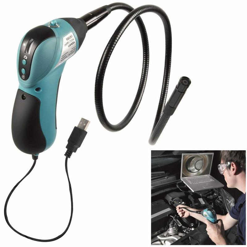 Ring RBS50 Borescope USB Inspection Camera With Light & Flexible Probe