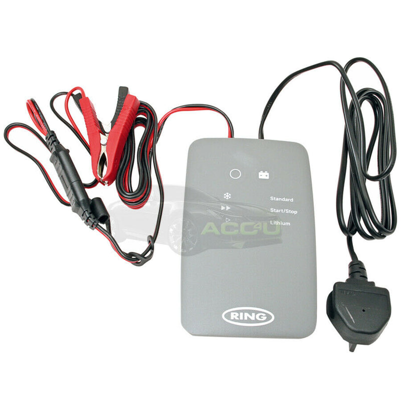 Ring RSC706 12v 6A 8 Stage Start/Stop Car 4x4 Smart Battery Charger & Maintainer