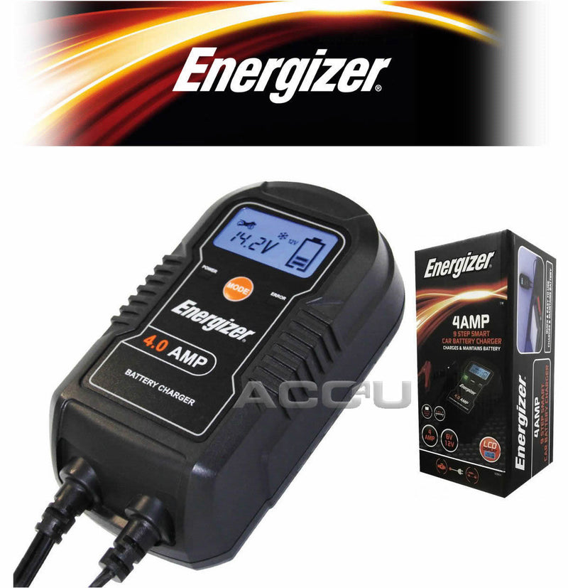 4Amp 9 Step Smart Car Battery Charger