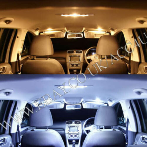Ring 12v Car W5W 501 Canbus Error Free 6000K White LED Interior & Side Light Bulbs