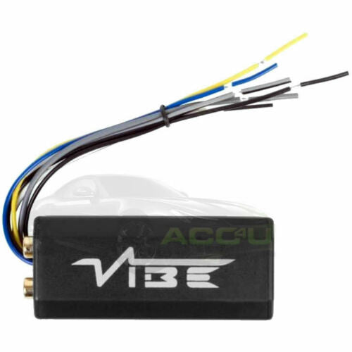 Vibe CLLOC-V7 Car 2 Channel Speaker Wires To Low Level RCA Output Line Convertor