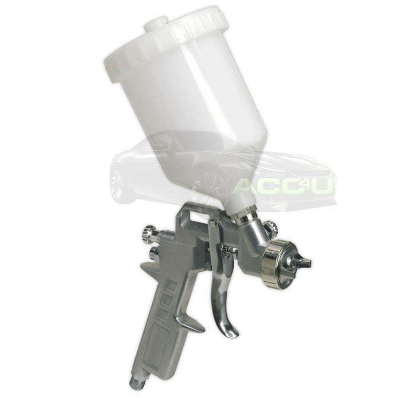 Sealey SSG501 Gravity Feed 2.2mm Spray Gun For Undercoat Primer Adhesives Paint