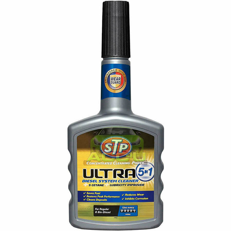 STP Ultra 5in1 Car 4x4 DIESEL Engine Fuel System Cleaner Power Booster Treatment