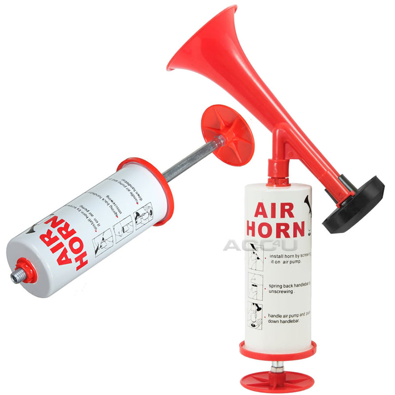 Hand Held Non Gas Pump Action Sports Events Party Games Air Horn
