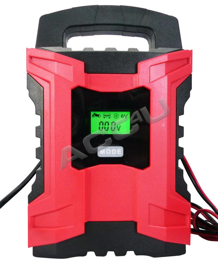 6v 12v 10 Amp Car Van Bike 7 Stage Intelligent Automatic Smart Battery Charger