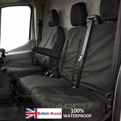 For Vauxhall Vivaro Sportive Van 2014> Tailored Fit Waterproof Seat Covers Protectors Set