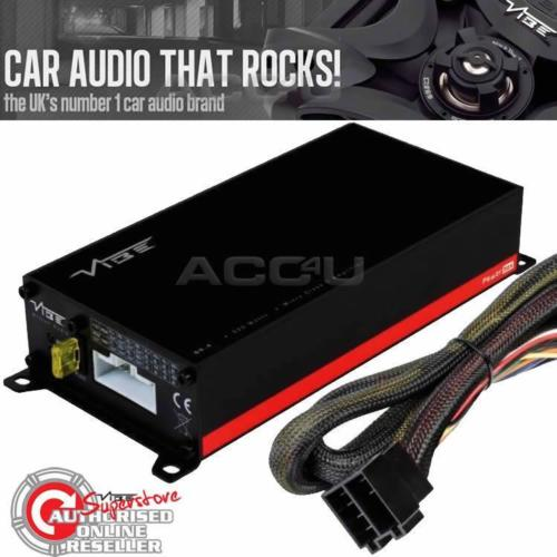 Vibe Powerbox 65.4M 520w Micro Mini Class D 4 Channel Car Bass Amp Amplifier