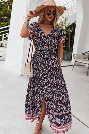 Annabelle Maxi Dress in Black
