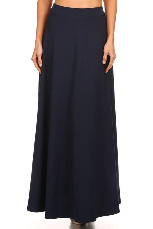Navy Maxi Ball Gown