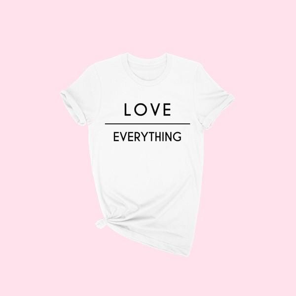 Love Over Everything Tee (White)