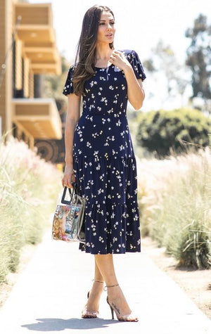 Lillian Floral Dress