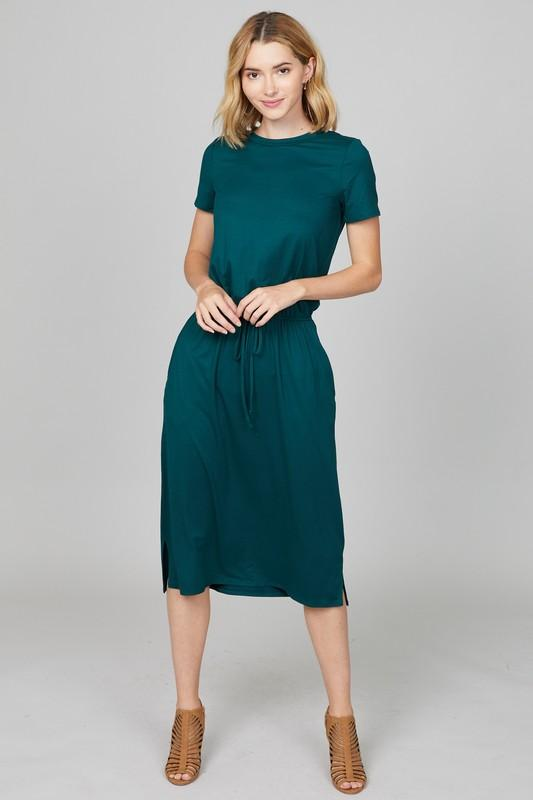 Live-in Lounge Dress (Teal Green)