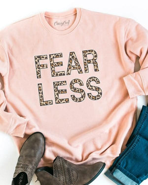 Fearless Leopard Pullover Sweater