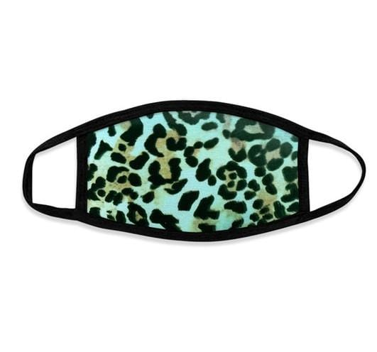 Leopard Mask (Mint)