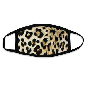 Leopard Mask (Brown/Black)