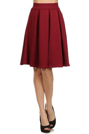 Burgundy Ball Gown