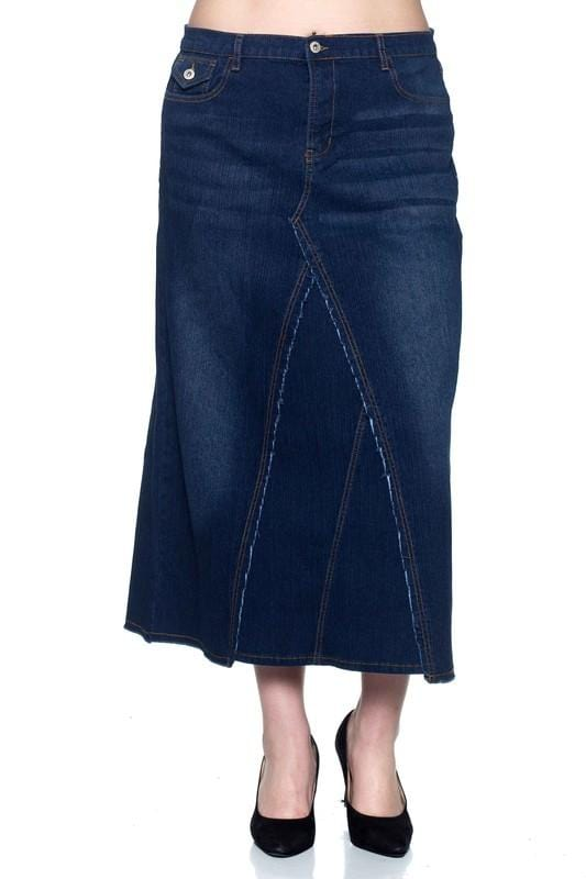 Amy Blue Denim Skirt
