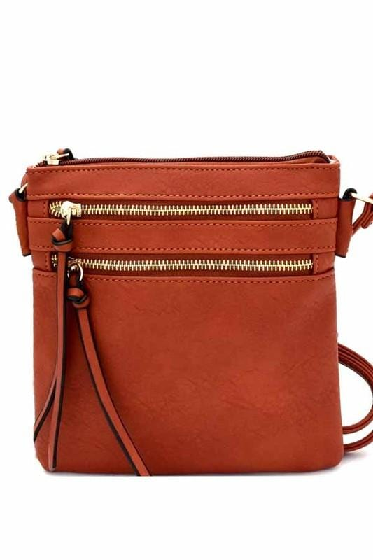 Bella Cross-body Bag (Brick)