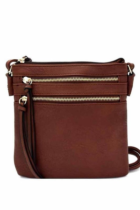 Bella Cross-body Bag (Brown)