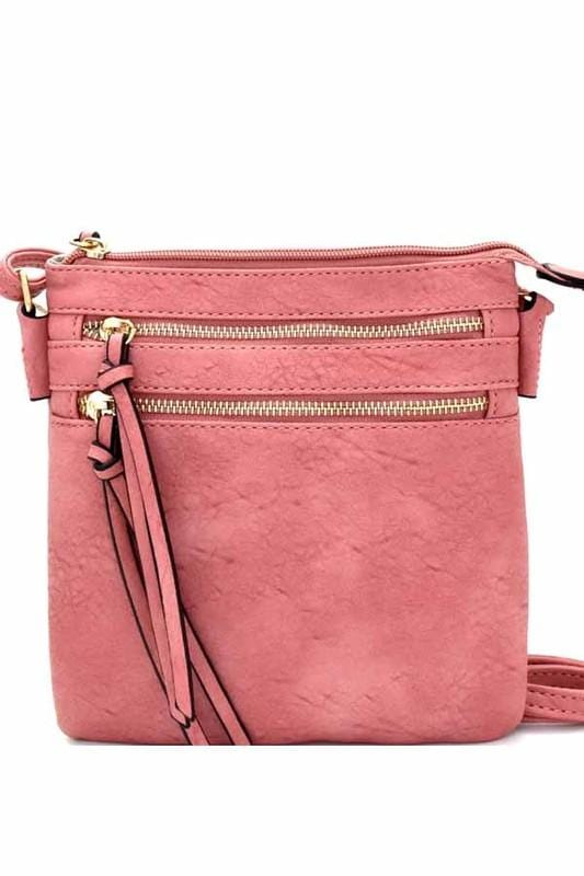 Bella Cross-body Bag (Mauve)