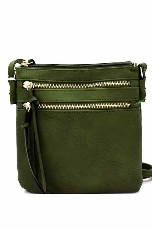 Bella Cross-body Bag (Olive)