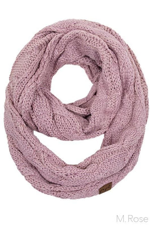 Infinity Scarf- Rose Sparkle