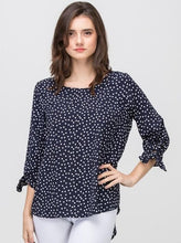 Dots of Love Blouse (Navy)