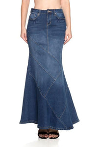 Alexa Denim Skirt